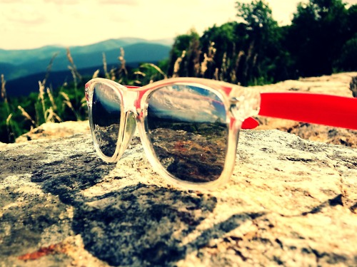 reflection sunglasses summer