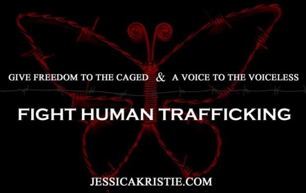 human trafficking, advocacy, Jessica Kristie