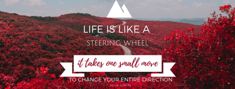 Life Is Like A Steering Wheel Facebook Cover Magic In The Backyard
